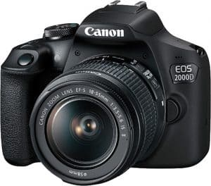 Canon EOS 2000D 18-55mm DSLR Fotoğraf Makinesi