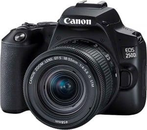 Canon EOS 250D 18-55mm DSLR Fotoğraf Makinesi