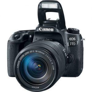 Canon EOS 77D 18-135mm DSLR Fotoğraf Makinesi