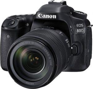 Canon EOS 80D DSLR Fotoğraf Makinesi