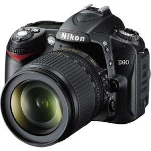 Nikon D90 DSLR Fotoğraf Makinesi