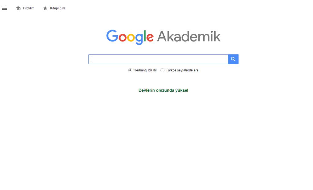 Google Scholar – Google Academic