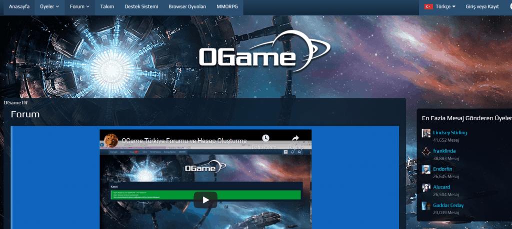 OGame TR Forum
