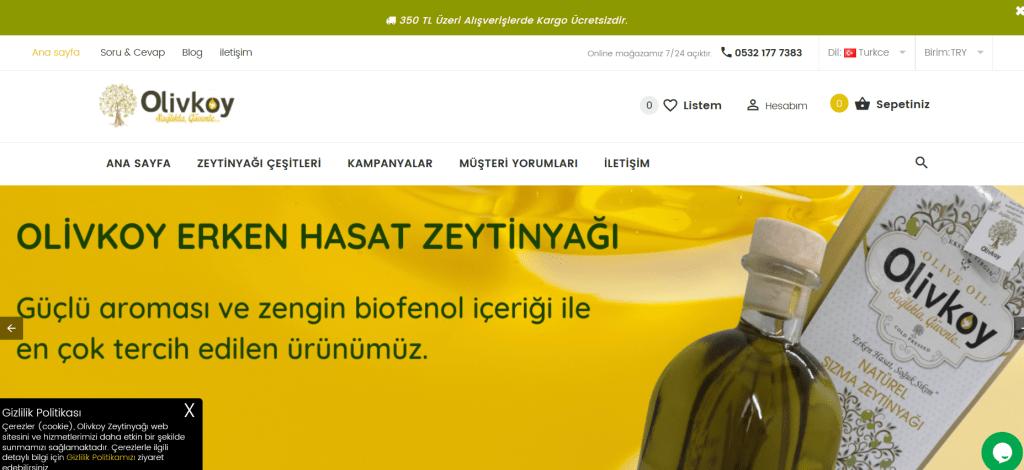 Olivköy Zeytinyağı