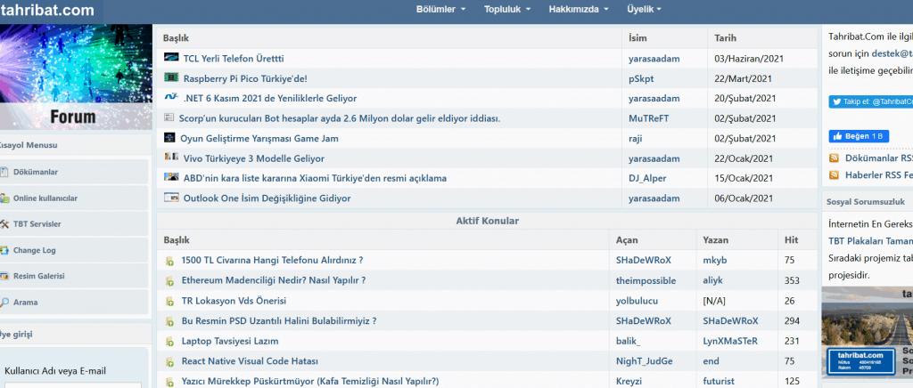 Tahribat.com Forum