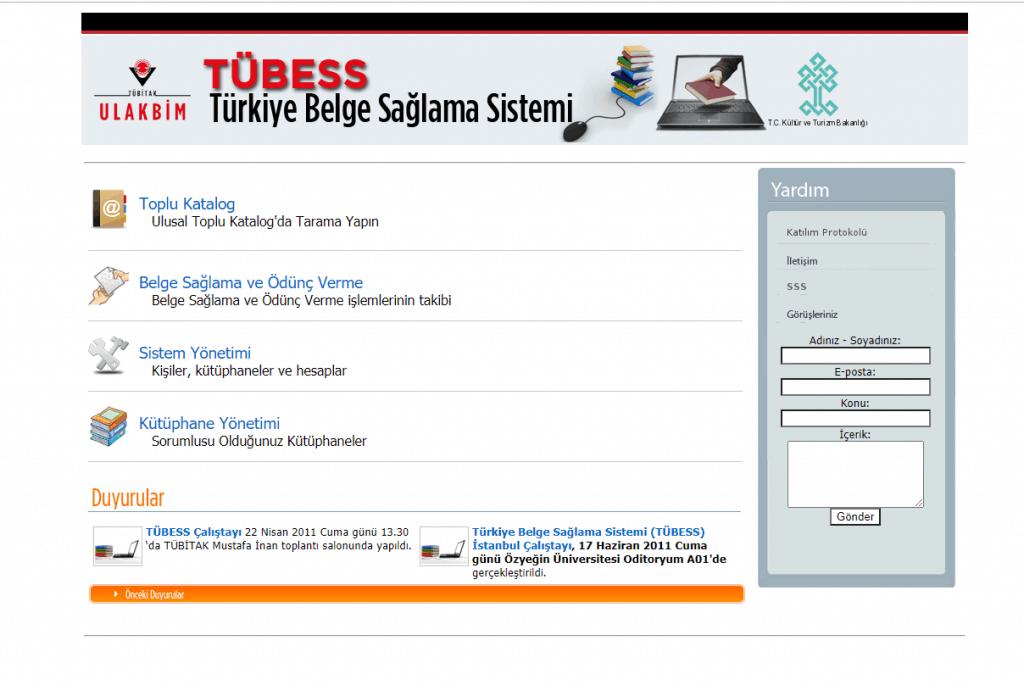 Türkiye Belge Sorgulama Sistemi (TÜBES)