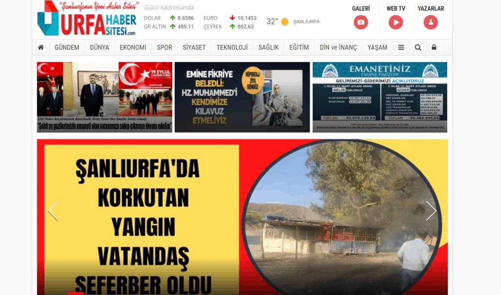 Urfa Haber Sitesi