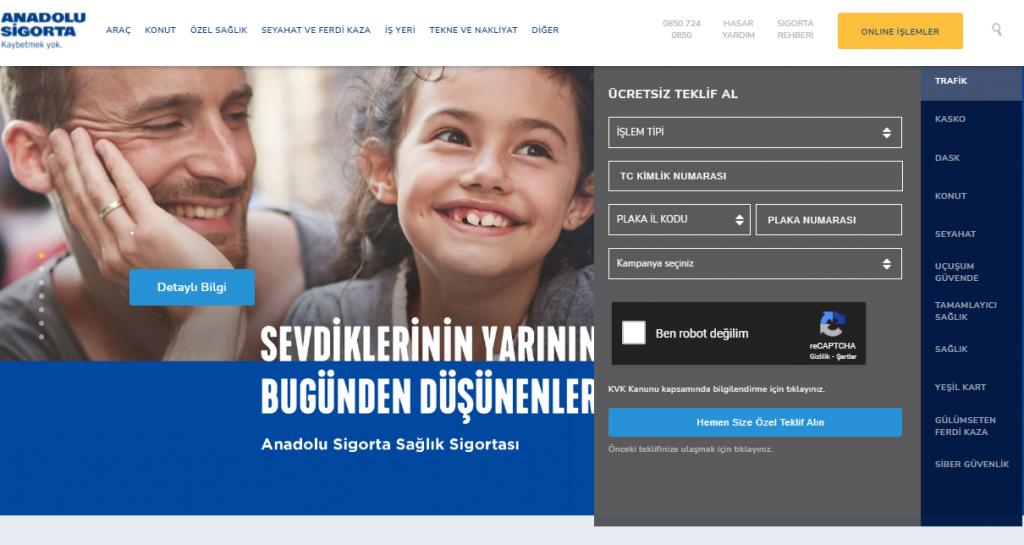 Anadolusigorta.com.tr