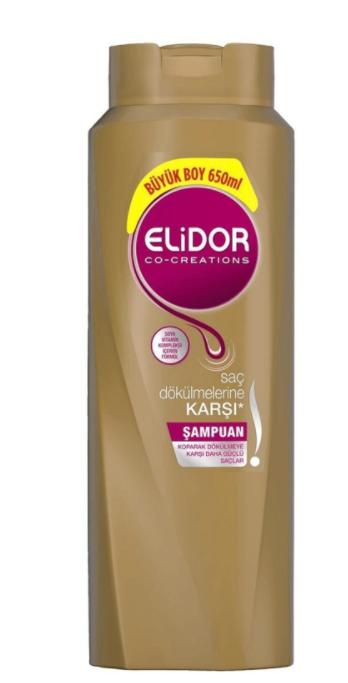 Elidor Superblend Saç Bakım Şampuanı Saç Dökülmelerine Karşı Vitamin E Chia Tohumu Yağı Arginine