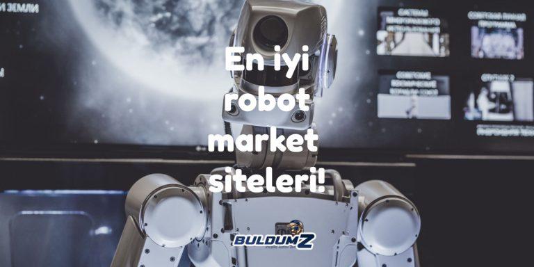 robot market siteleri